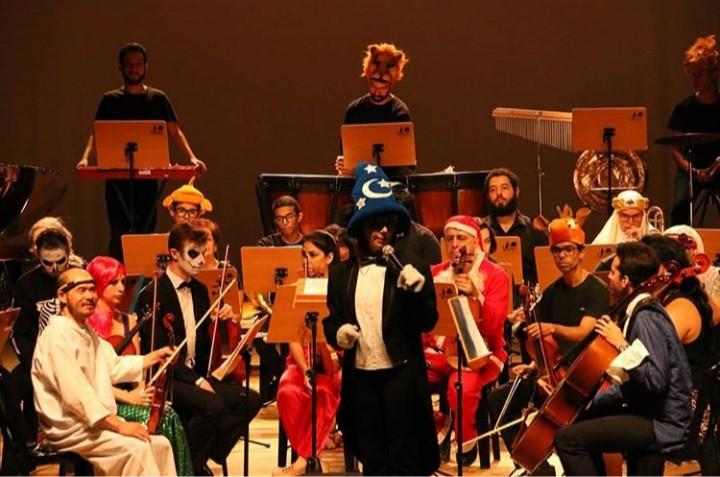 Orquestra caracterizada