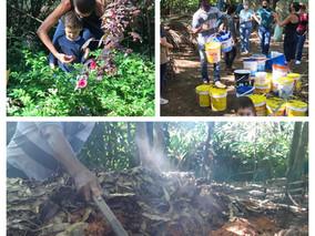 2 anos de compostagem no Jardim Marajoara!