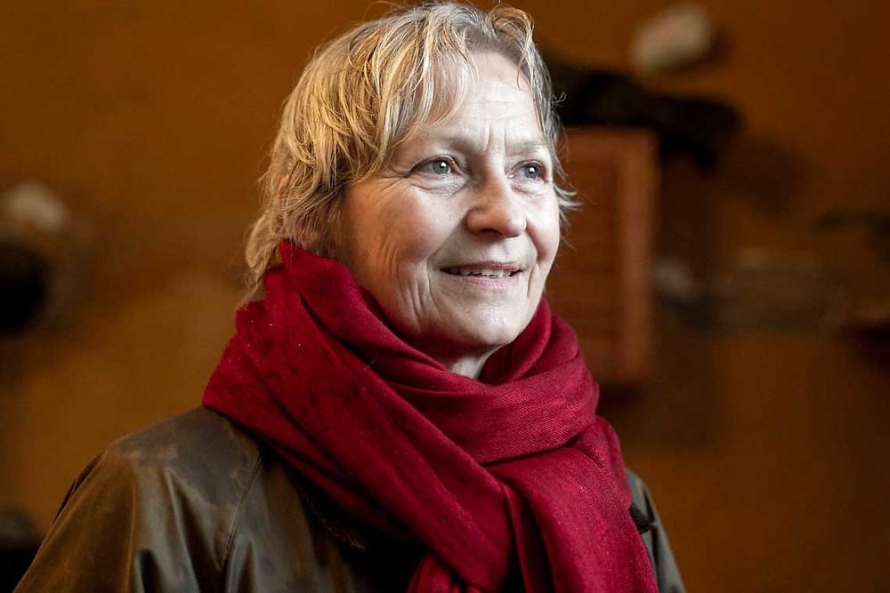 Portræt af Susanne Falk, leder af TitiBogruppen