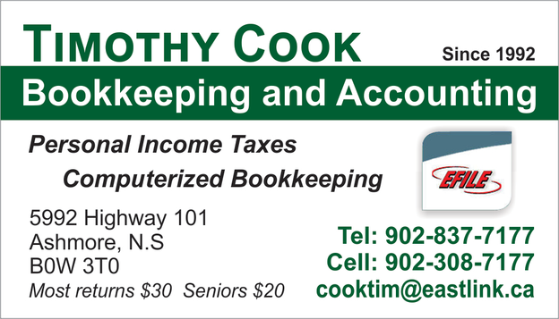 Timothy Cook Bookkeeping