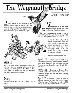April-May Newsletter