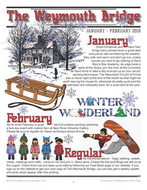 January-February 2018 newsletter