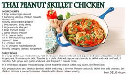 Thai Peanut skillet chicken Jun 2020.JPG