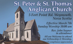 St Peter & St. Thomas Anglican Church