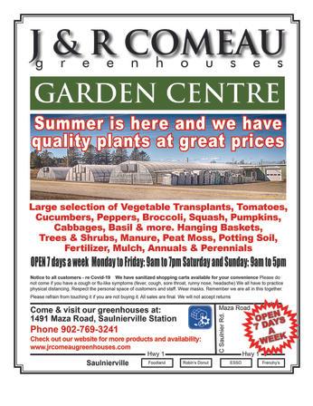 J & R Comeau Greenhouses