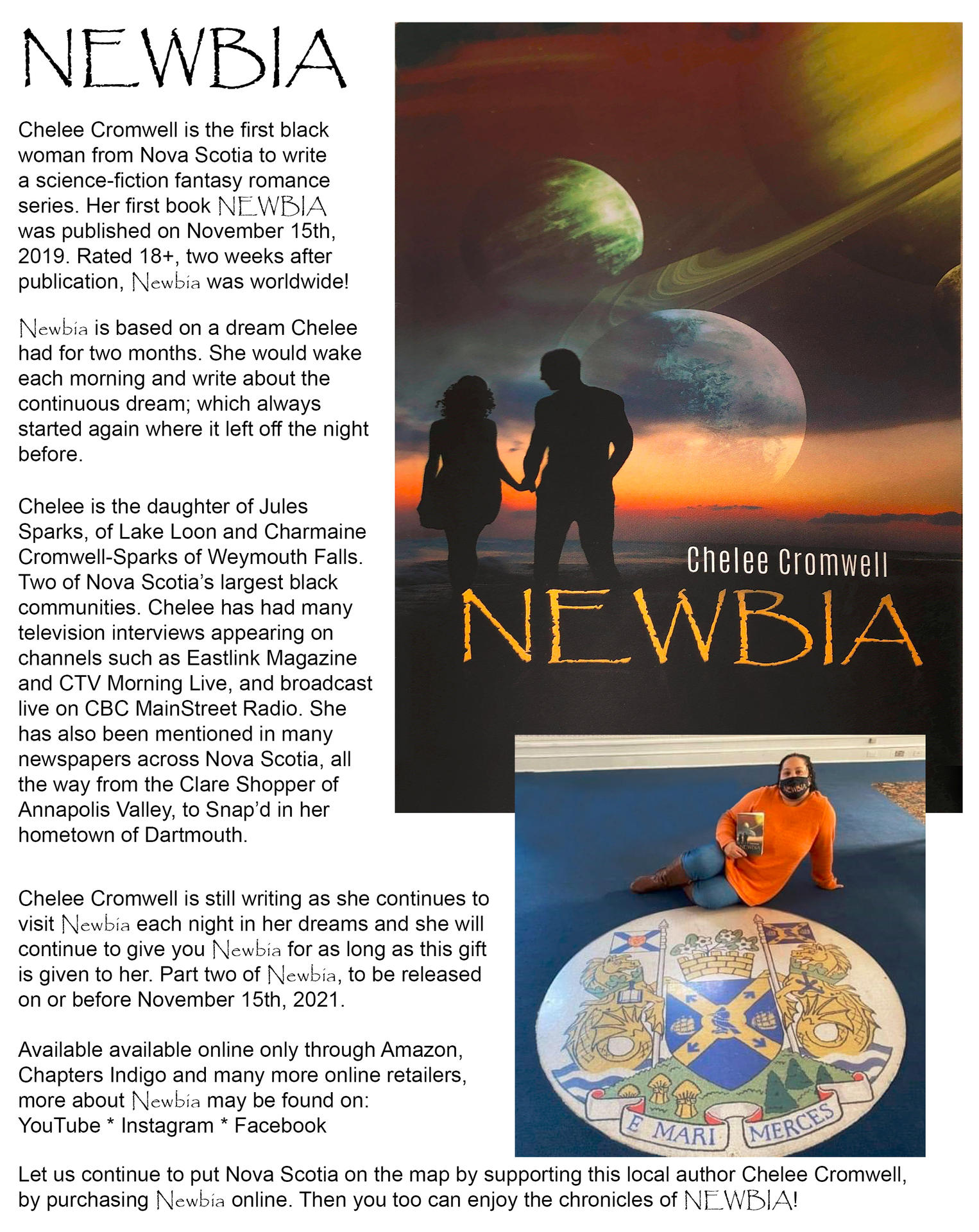 Newbia by Chelee Comwell