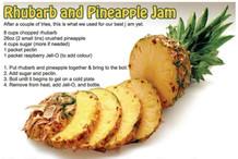 Rhubarb and pineabpple Jam Aug 2018.JPG