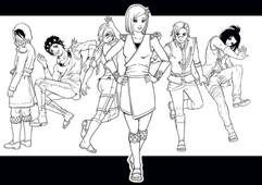 Jenn Outlines Charaktere