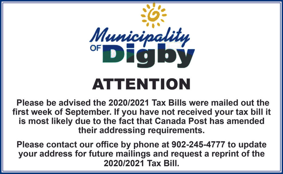 Digby Municipality Property Tax Info