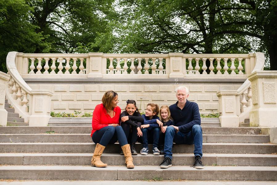 Familie in Clingendael