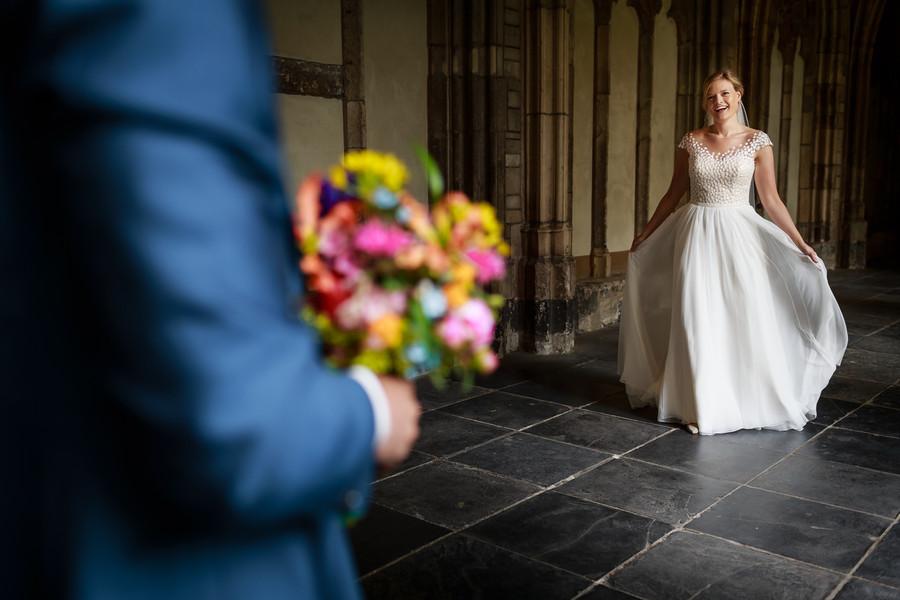 Bruidegom boeket