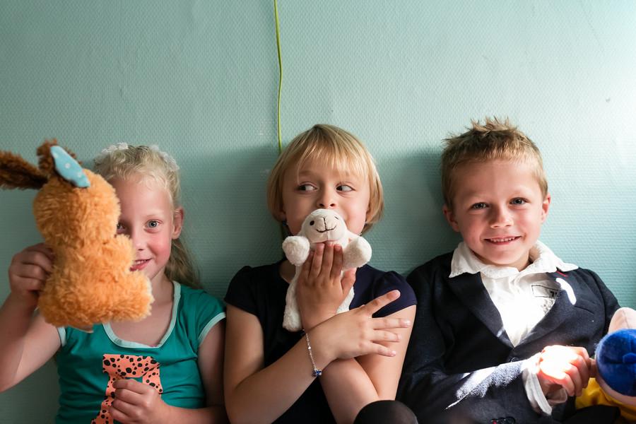 kinderen portretshoot