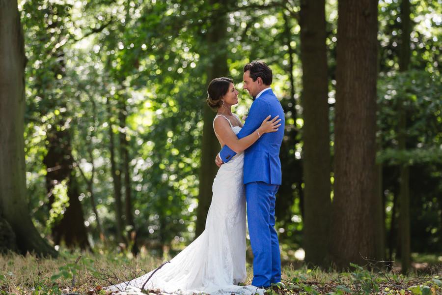 buitenlocatie fotografie bruidspaard