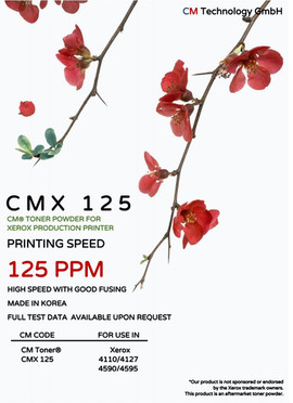 CMX 125 - Toner Powder for Remanufacturing