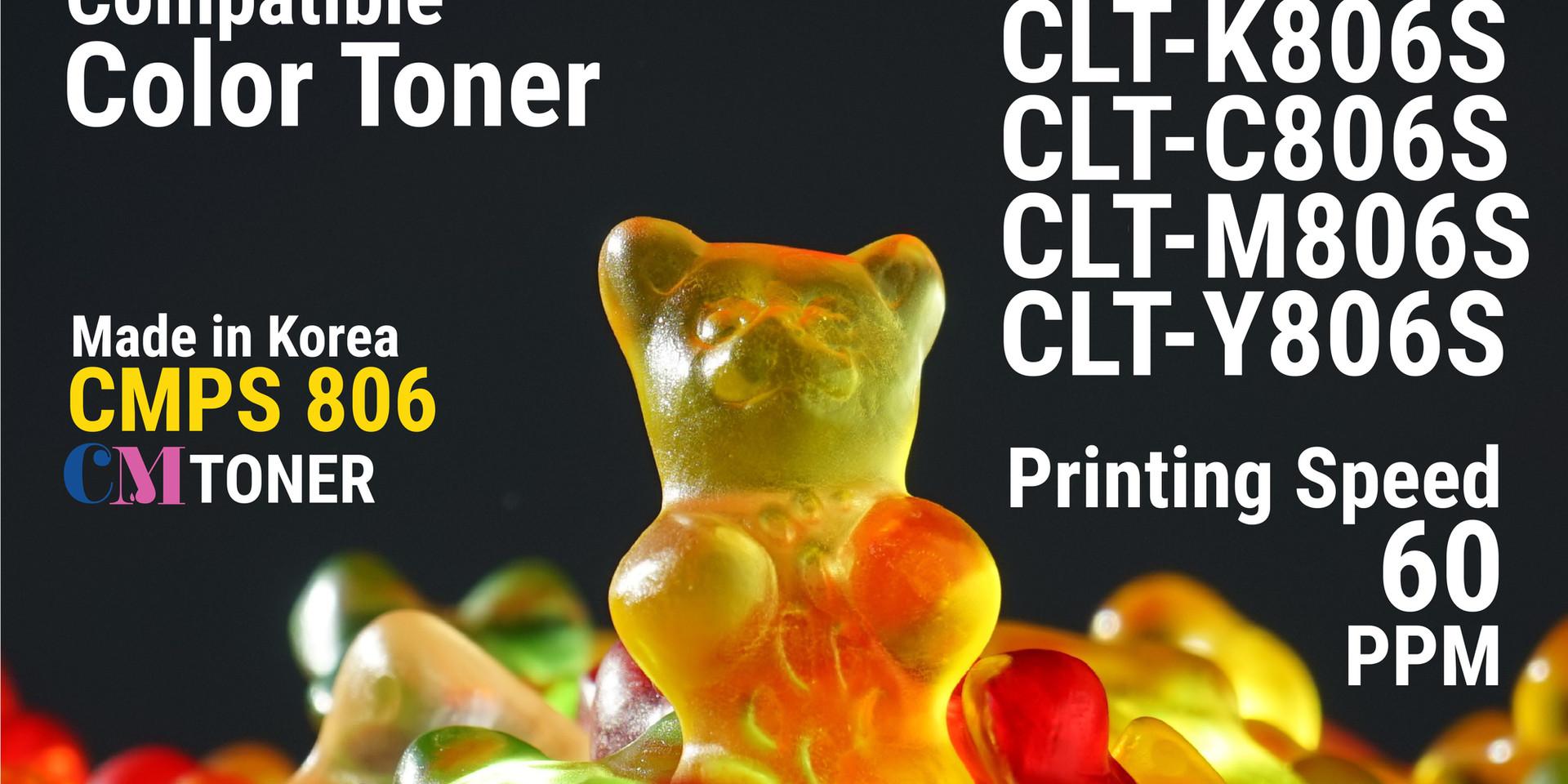 CLT-KCMY806S Compatible Toner