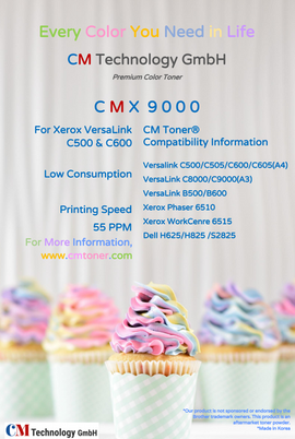 CMX 9000 - Toner Powder for Remanufacturing