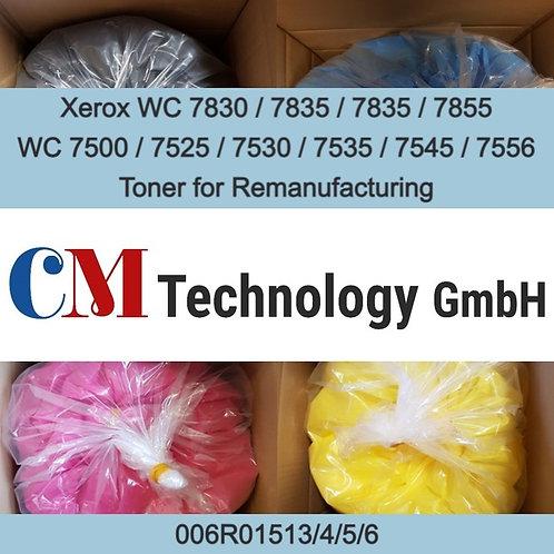 1 Kg, WC7855, 7556, 7525 Xerox, Toner Powder for Remanufacturing, CMX 7855N
