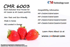 CMR 6003 - Toner Powder for Remanufacturing