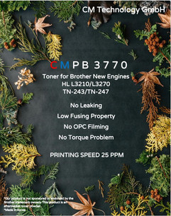 CMPB 3770, TN-243/TN-247 - Toner Powder for Remanufacturing