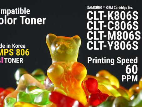 CLT-806 Samsung, Toner for Remanufacturing - CMPS 806 (60 PPM)