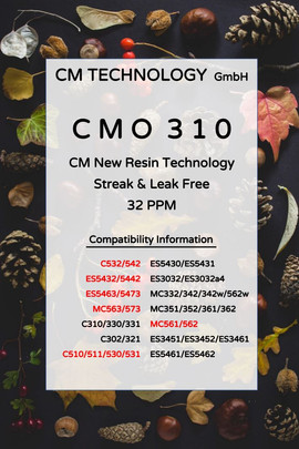 CMO 310 Fall - Toner Powder for Remanufacturing