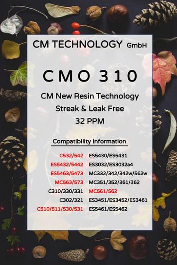 CMO 310 Herbst - Tonerpulver für die Wiederaufarbeitung
