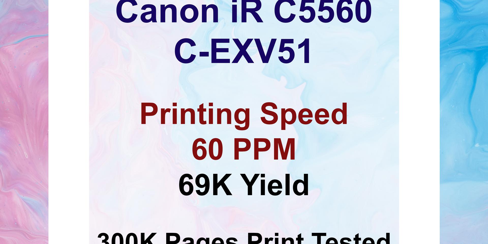 Canon IR C5560 Compatible Toner