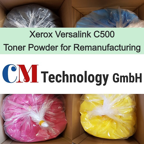 1 Kg, Versalink C500 Xerox, Toner Powder for Remanufacturing, CMX 9000