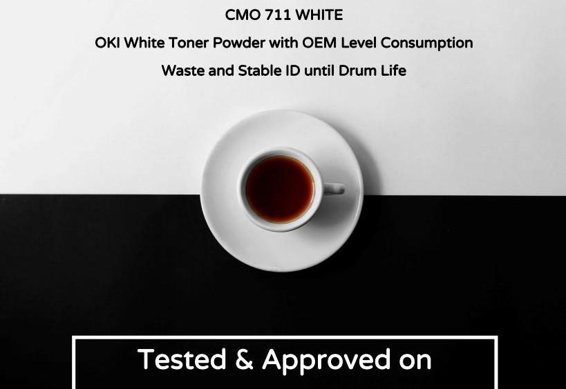 White Toner Powder by CM Technology GmbH
