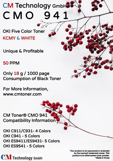 CMO 941 - Tonerpulver zur Wiederaufbereitung