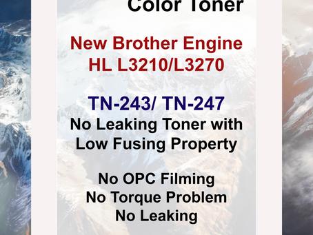 TN-243 / TN-247, Brother Engine HL L3210 / L3270 Toner for Remanufacturing, CMPB 3770