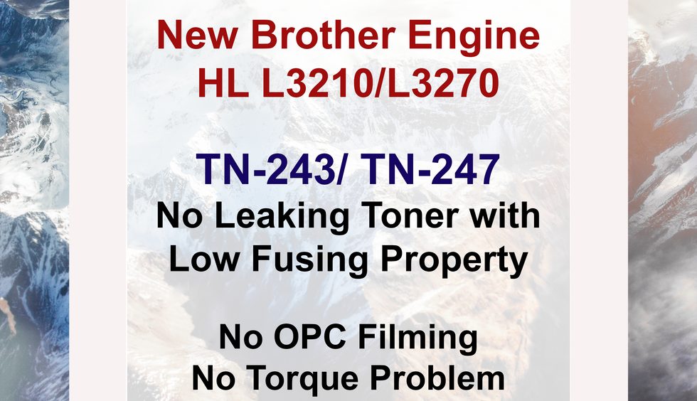 Brother TN243, 247 Compatible Toner