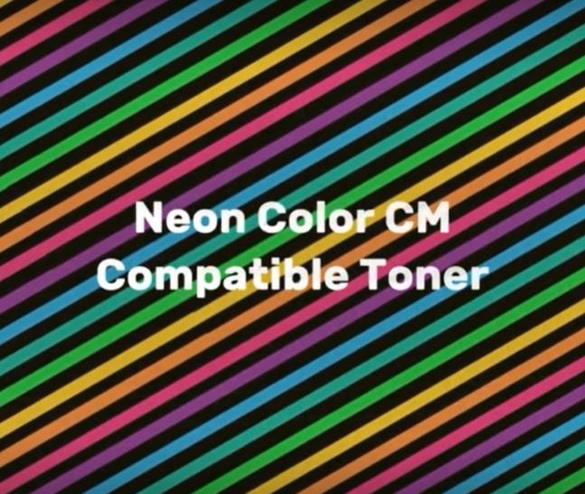 CM Neon Color Toner OKI-kompatibel in Kürze erhältlich - Tonerpulver für die Wiederaufarbeitung