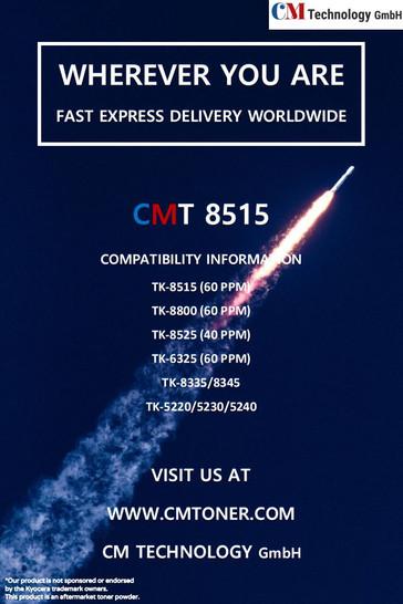 CMT 8515 - Tonerpulver zur Wiederaufbereitung