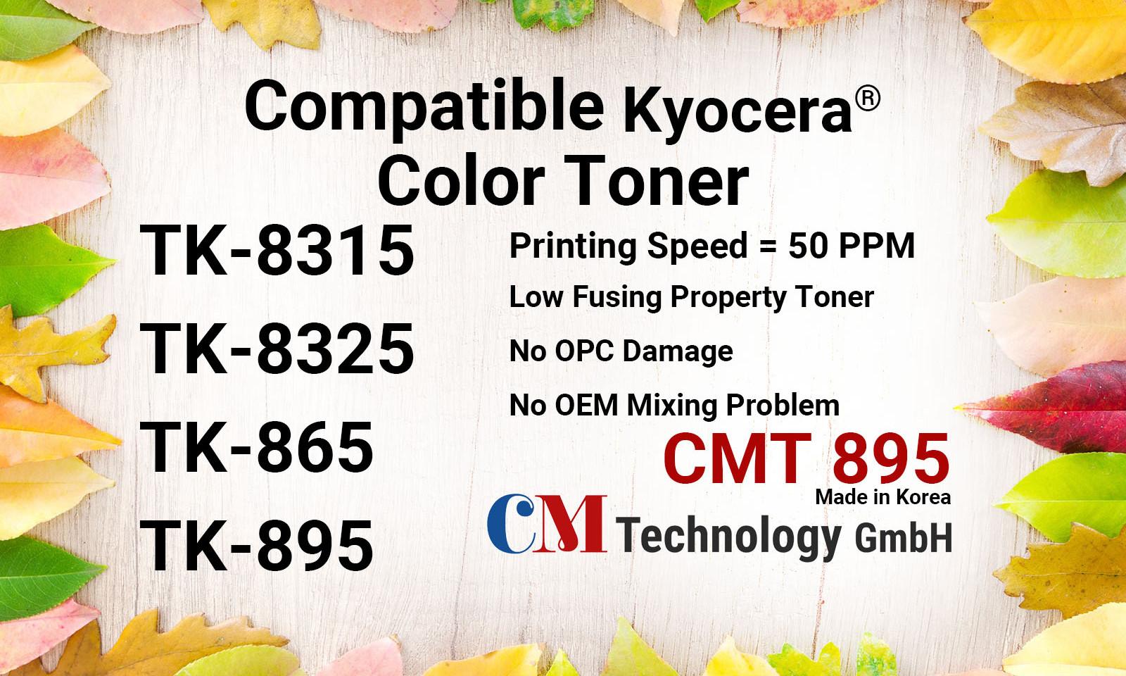 TK-8315/8325/865/895 Compatible Toner