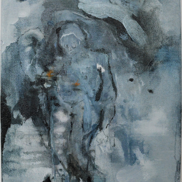 Transfiguration in Blue (Ember Heart)