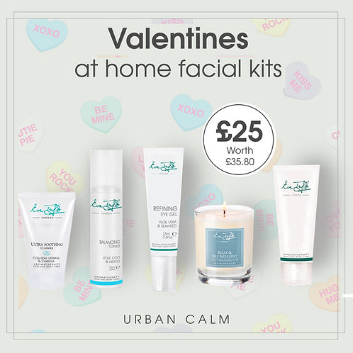 LIMITED EDITION Valentines at home facial kit