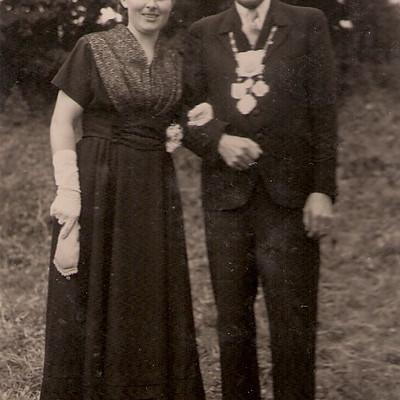 Königspaare von St. Hubertus Menden Nord