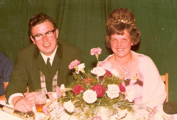 1970 - 1971 Bernhard Webelhaus & Elisbeth