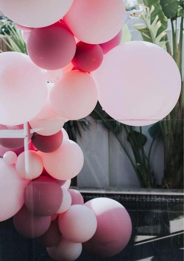Pool Balloon Installation