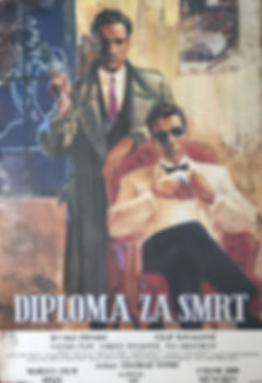 zoran bručić, zoran brucic, diploma za smrt, 25 godina poslije, 25 godina kasnije, divljač, pisac, roman, krimić, kriminalistički roman