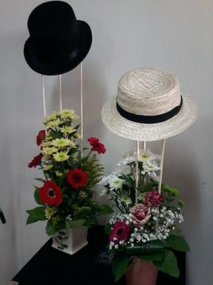 Composition avec chapeau