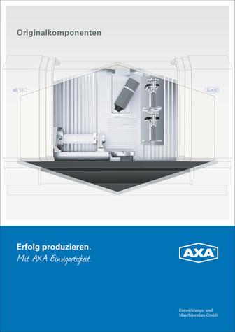 Produktprospekt AXA Maschinenbau