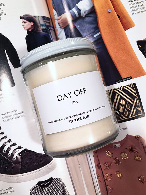 'DAY OFF' - SPA