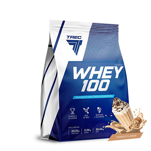 WHEY PROTEIN 100 900g Cookies