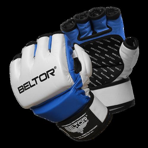 One | MMA gloves White/Blue