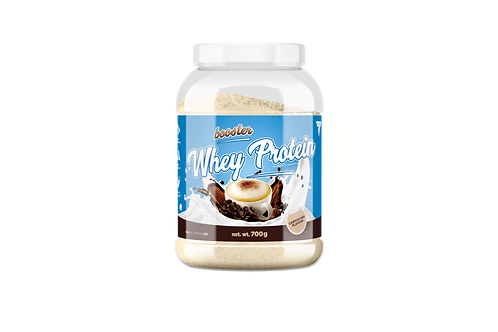 BOOSTER WHEY PROTEIN CAPPUCCINO 700g