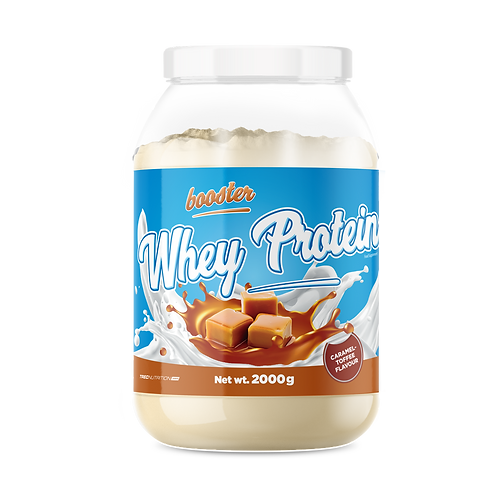 BOOSTER WHEY PROTEIN CARAMEL-TOFFEE 2000g