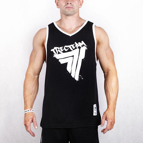 TREC WEAR - TANK TOP JERSEY 007 BLACK PLAYHARD