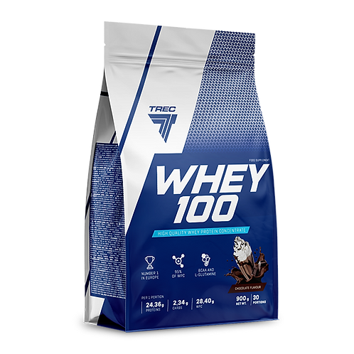 WHEY PROTEIN 100 900g CHOCOLATE